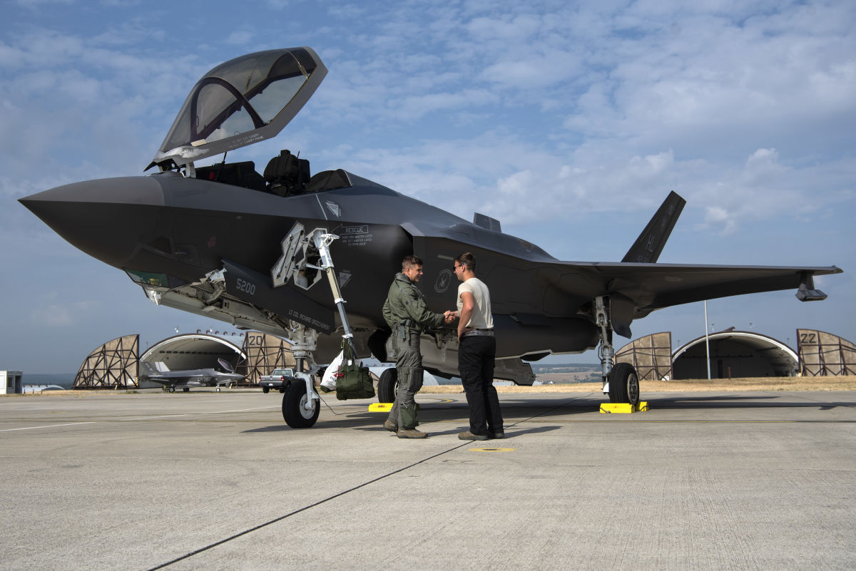 F-35s in Lithuania