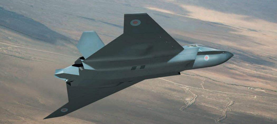 Farnborough 2018: UK unveils future fighter concept