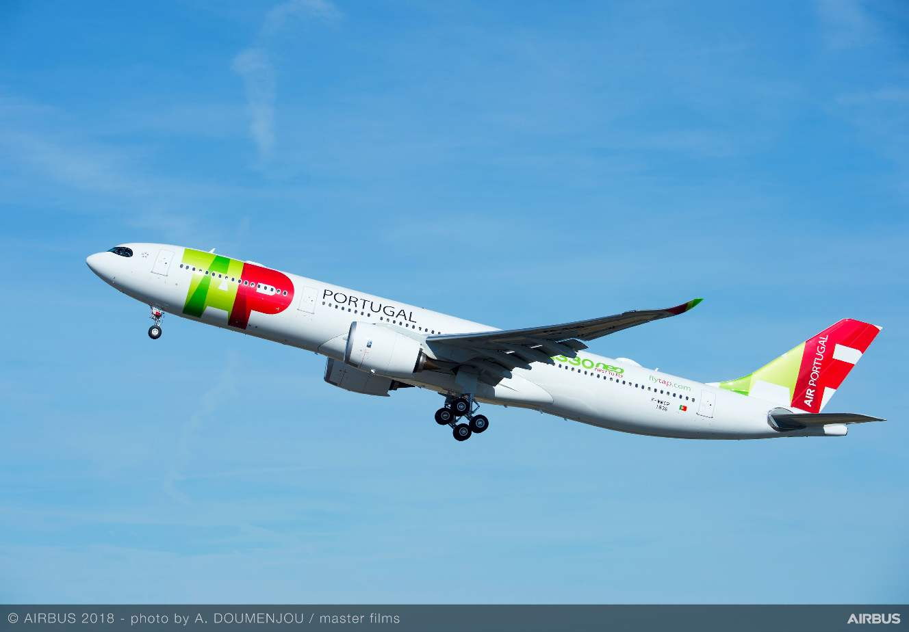 Airbus delivers first A330-900 to TAP