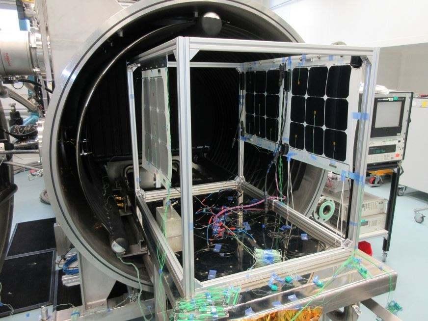 Thales Alenia Space validates Stratobus solar arrays