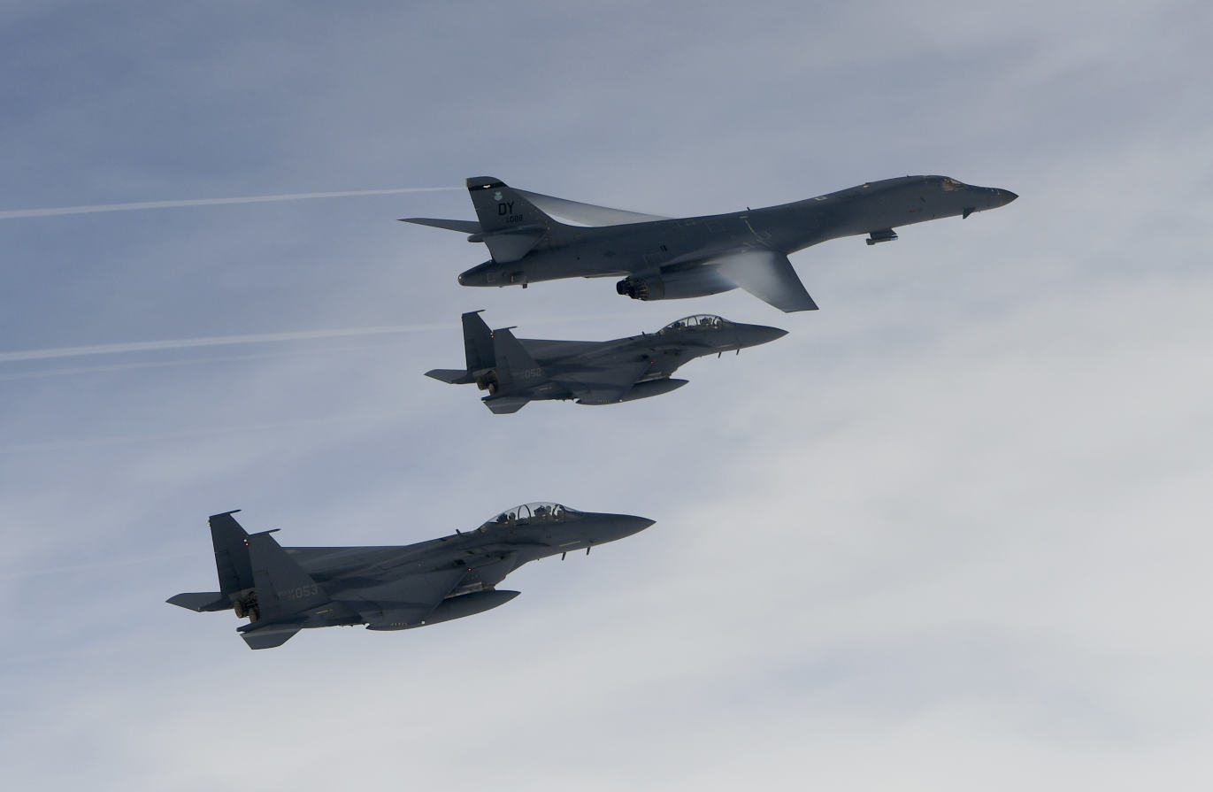 USAF steps up Pacific bomber activity