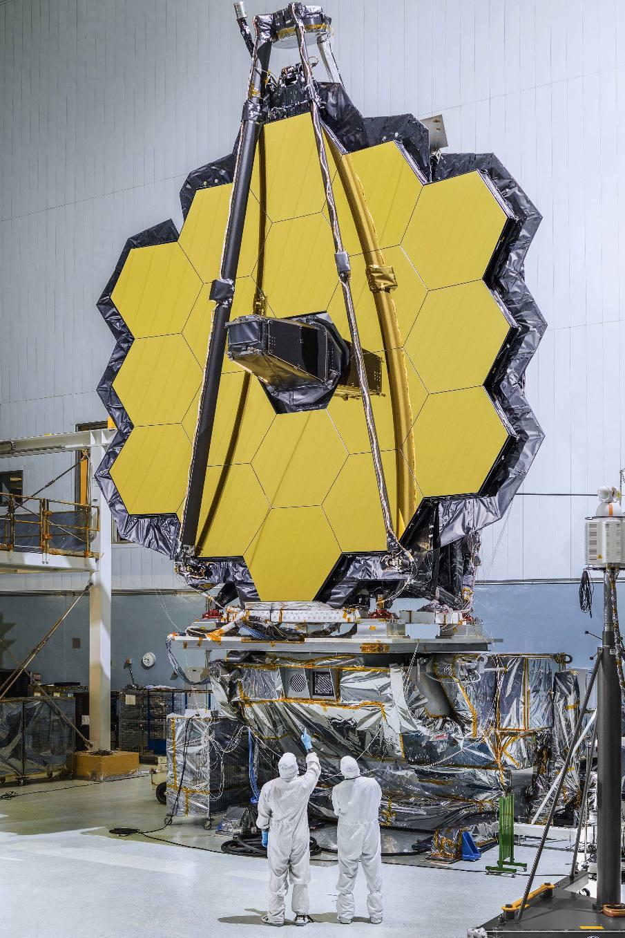James Webb Space Telescope launch slips to 2019