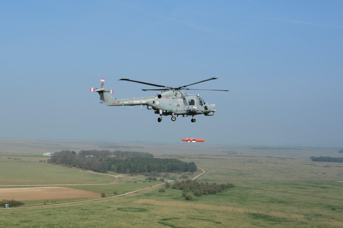 MBDA tests Sea Venom/ANL missile on Lynx, Super Lynx