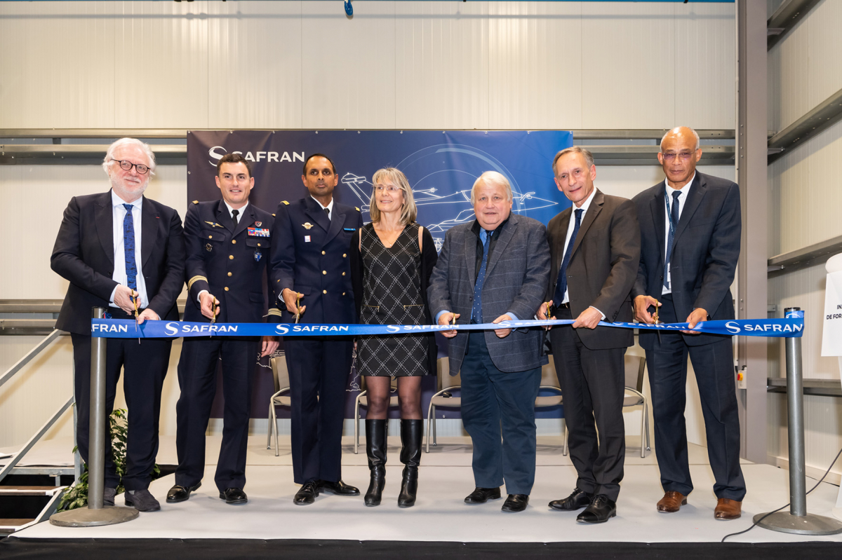 Safran inaugurates Dassault Rafale's M88 maintenance training center
