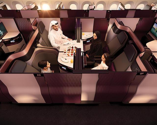 Qatar Airways unveils new Business Class