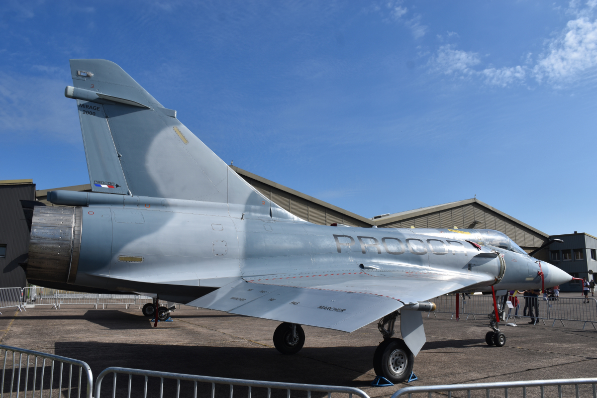 Procor announces a Mirage 2000 in flight in the first quarter of 2022