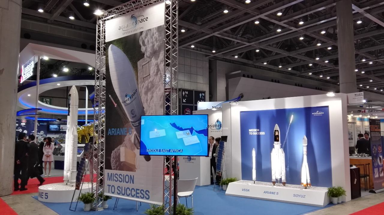 European space sector makes its mark at Japan Aerospace 2016