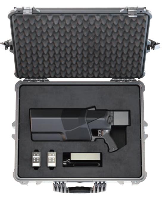 DroneShield unveils the DroneGun MKIII