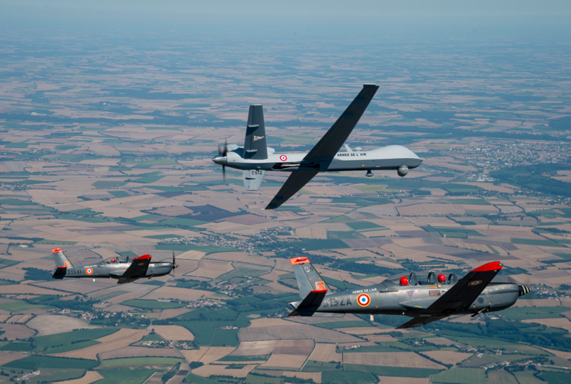 Reaper makes first flight in French airspace