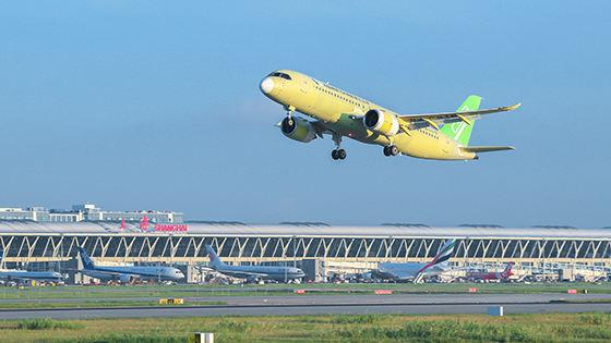 Comac speeds up its flight test campaign