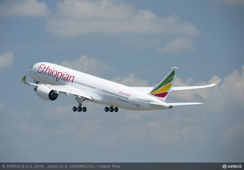 Ethiopian is first in Africa to receive A350