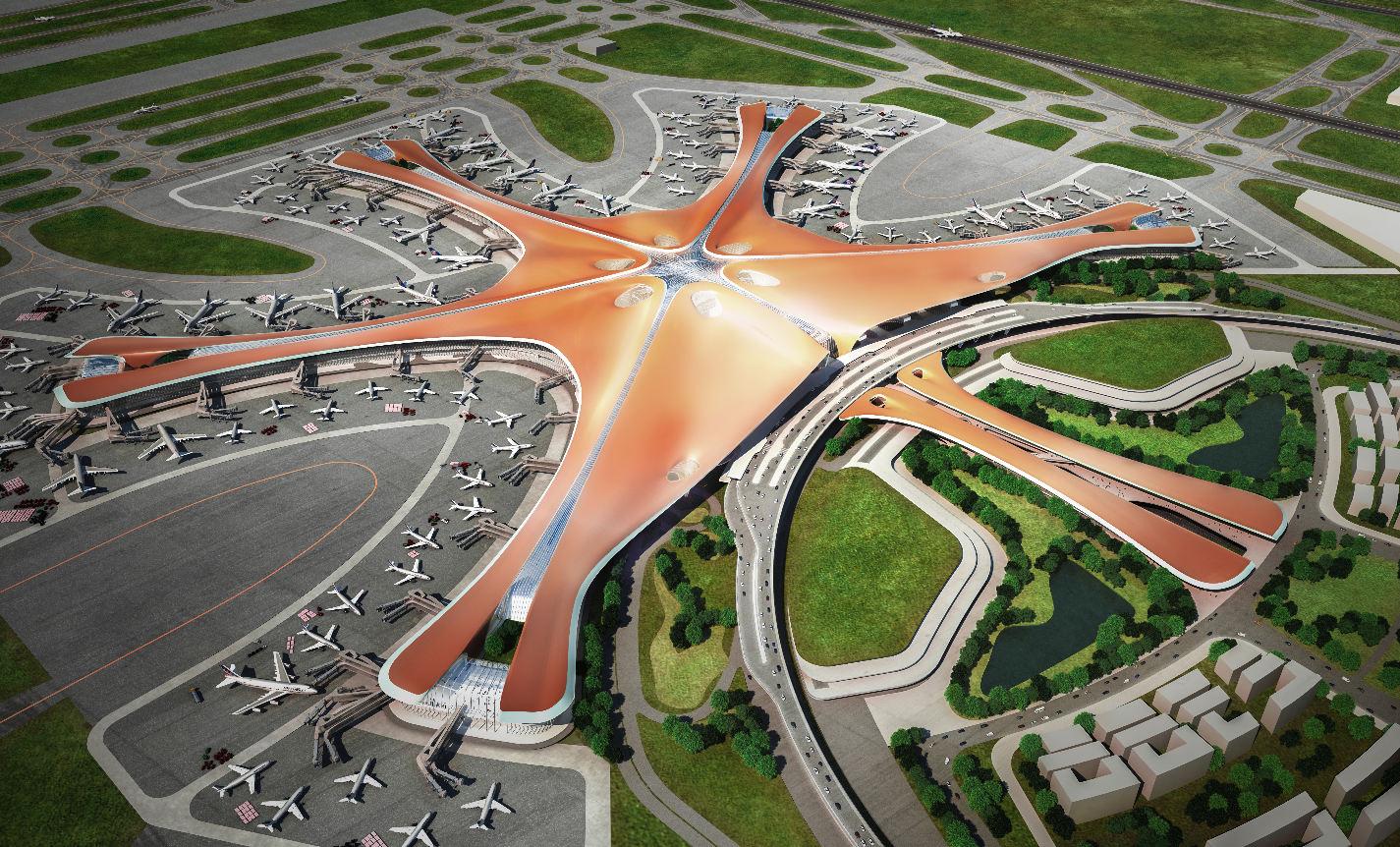 Beijing Daxing International Airport: soon into service