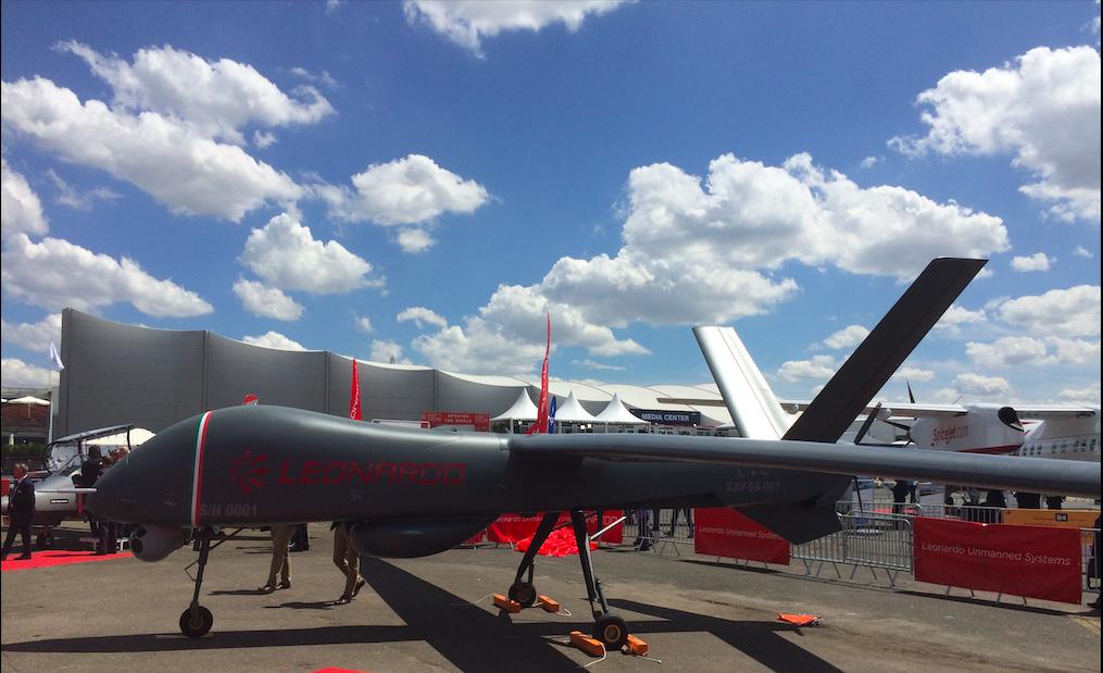 Paris Air Show 2019: Leonardo unveils its brand-new Falco Xplorer drone