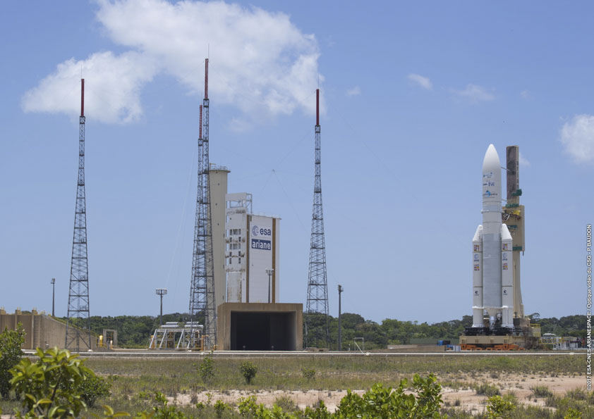 Ariane 5 launch abort due to electrical anomaly