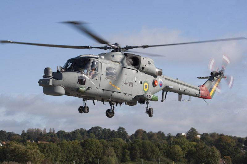Upgraded Brazilian Navy Super Lynx makes maiden flight