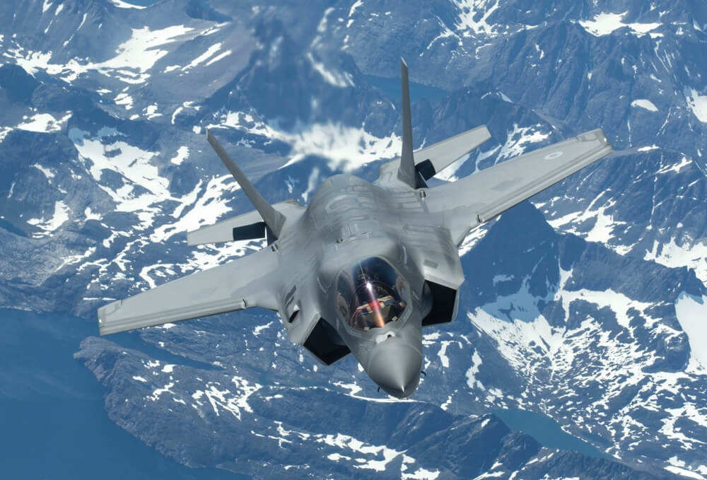 First operational deployment of the British F-35s