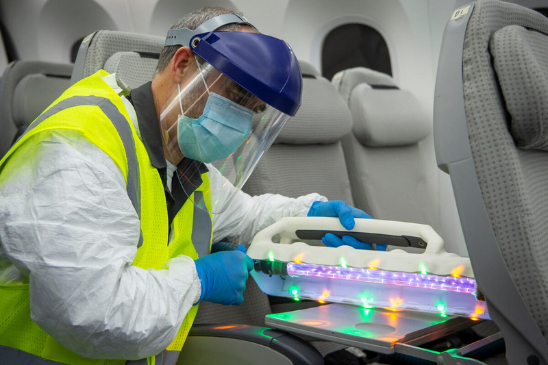 Coronavirus: Boeing proves the efficiency of several techniques of disinfection