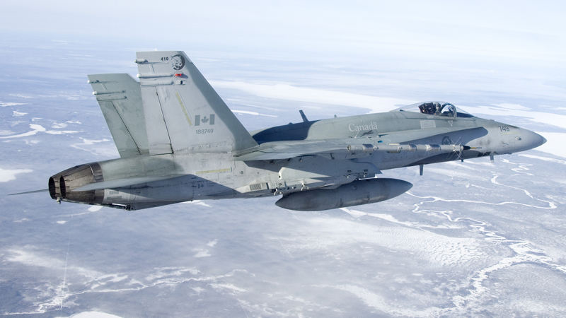 Canada: first bid for new fighter jets in fall 2019