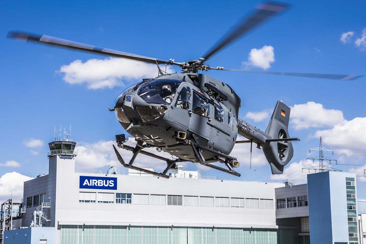 Airbus Helicopters delivers final H145M to Germany