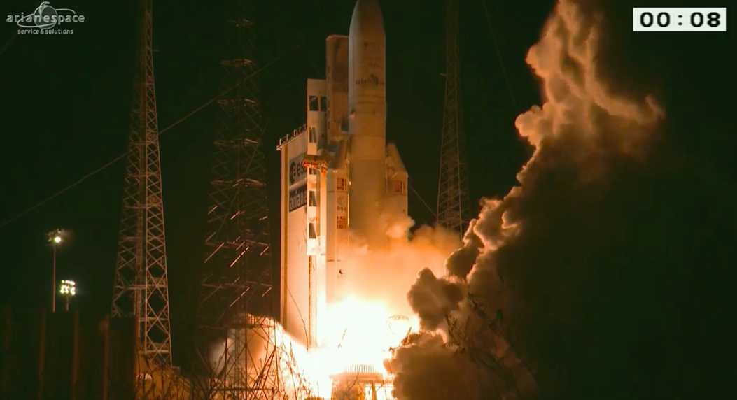 New launch record for Ariane 5