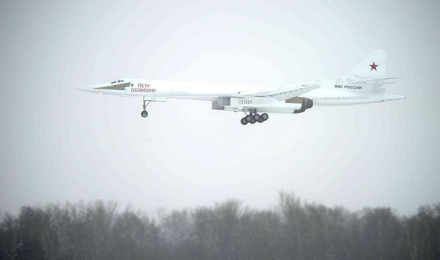 The first modernized Tu-160M starts testing