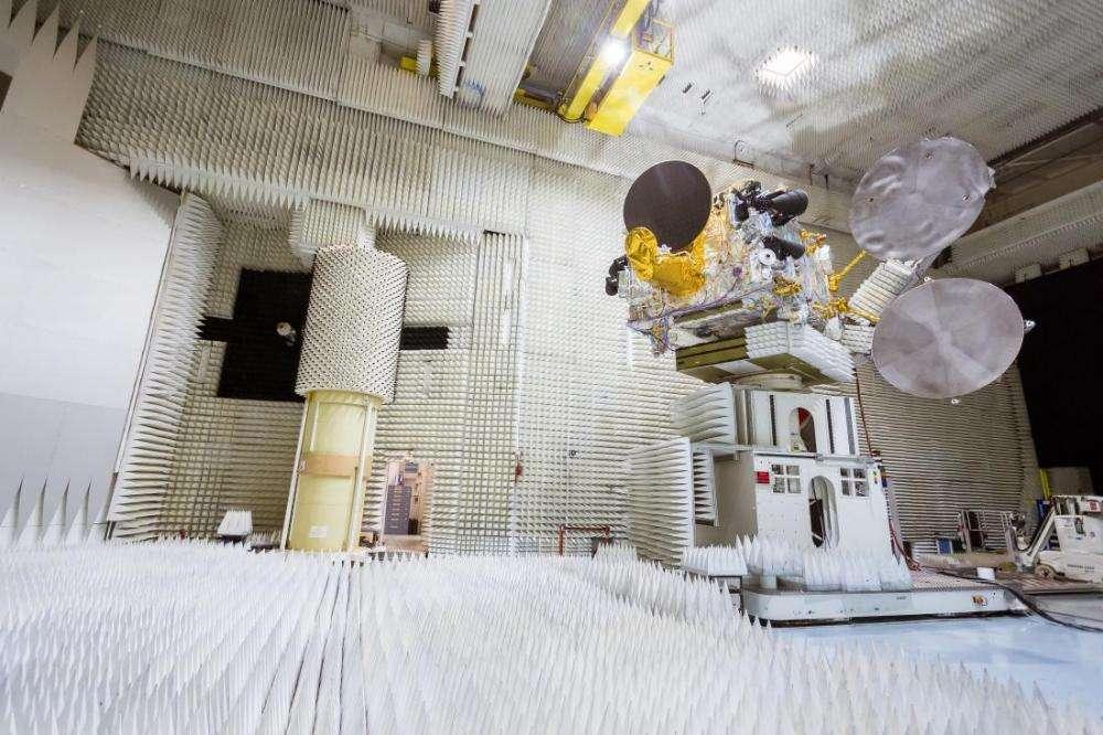 Bangabandhu Satellite-1 in testing.