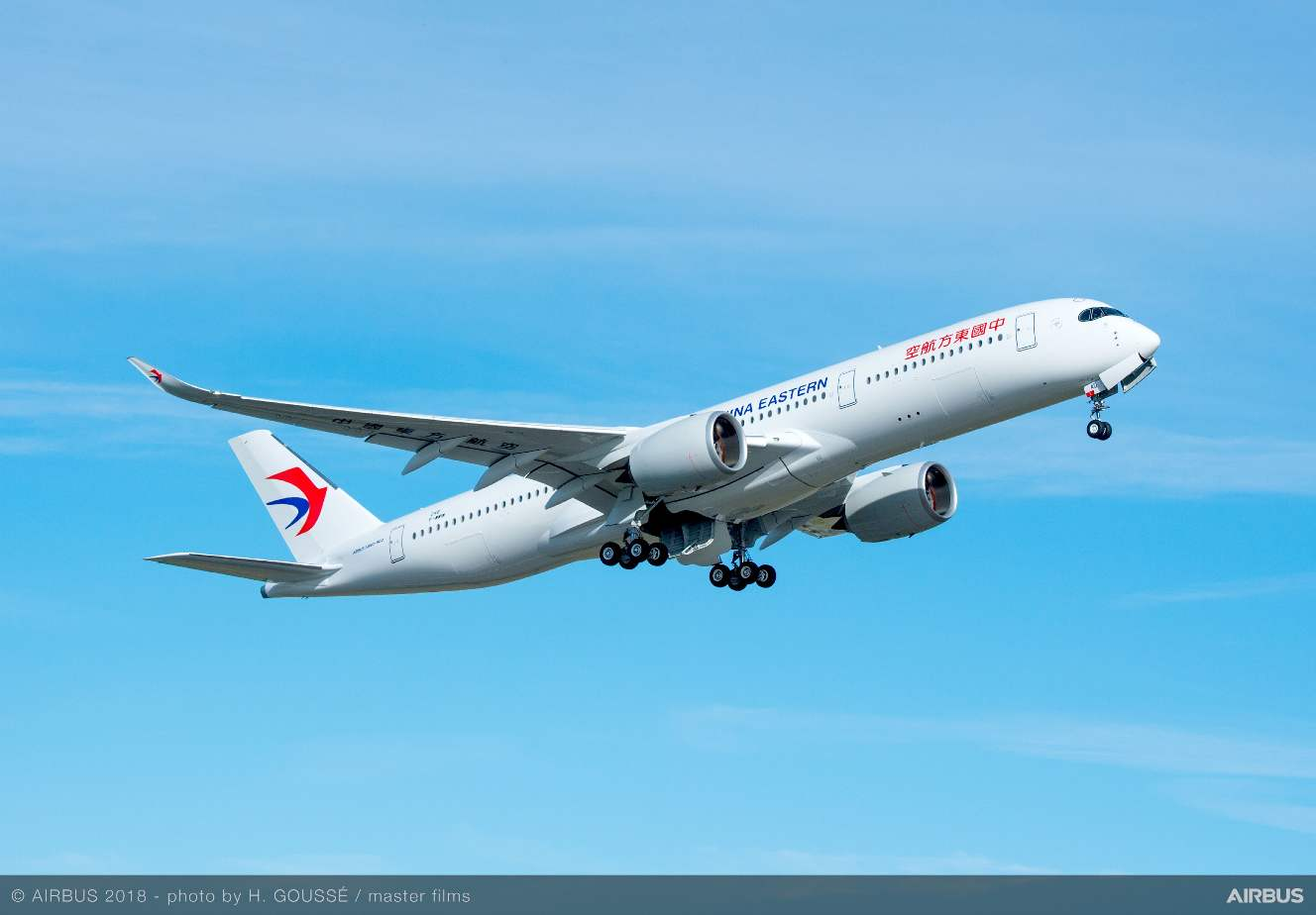 China Eastern Airlines gets first Airbus A350-900
