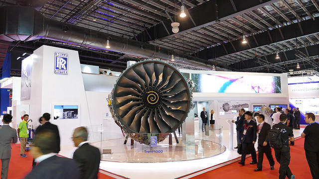 Singapore 2018 : Rolls-Royce, THAI sign testbed agreement