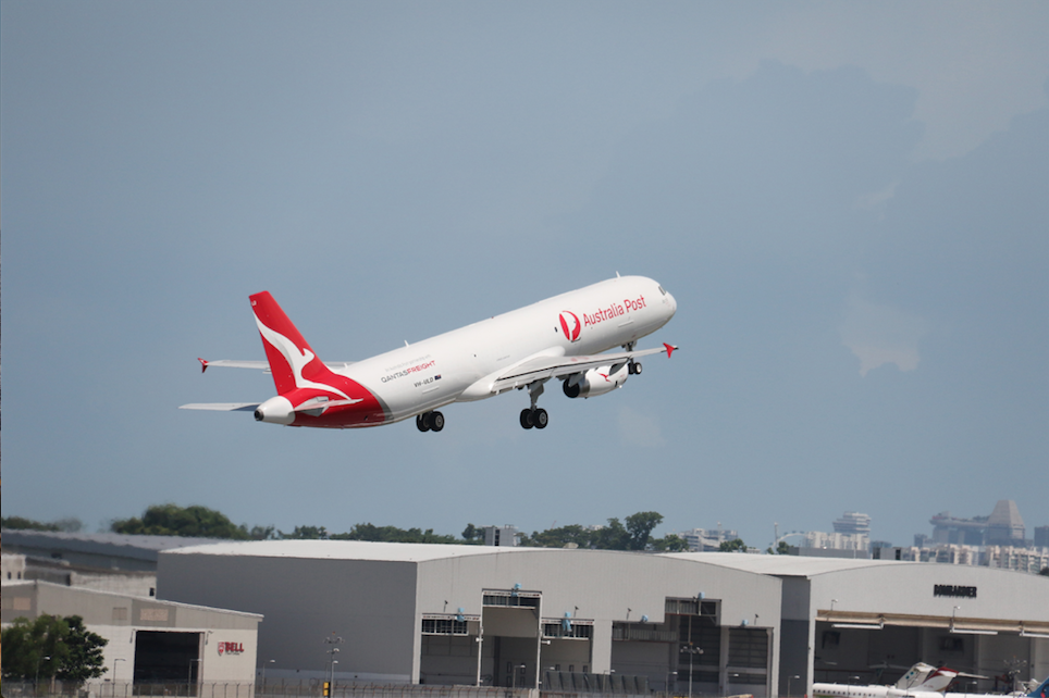 World Premiere: Vallair Delivers First A321 Cargo Conversion to Qantas Freight