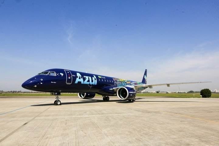 First Embraer E195-E2 for Azul