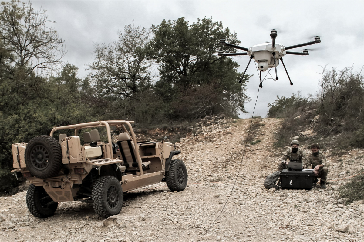 Elistair launches a UAV dedicated to defence applications