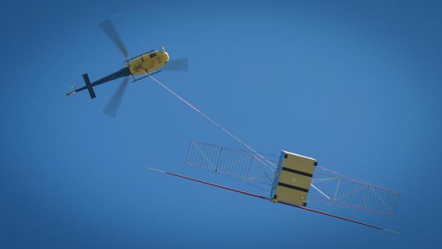 Radar antenna tested for Jupiter mission