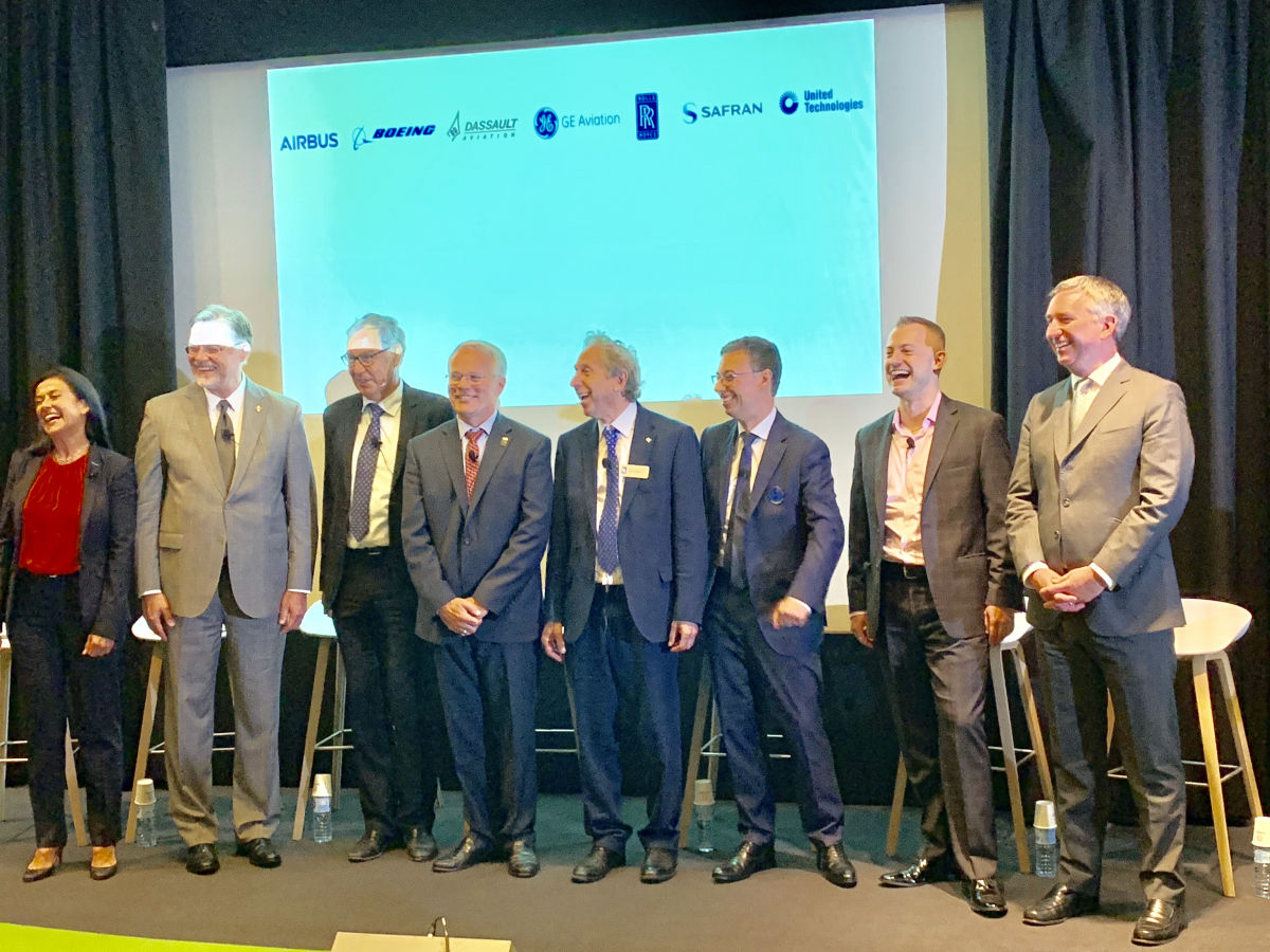 Paris Air Show 2019: Chief Technology officers — great actors of the industry — commit for sustainability