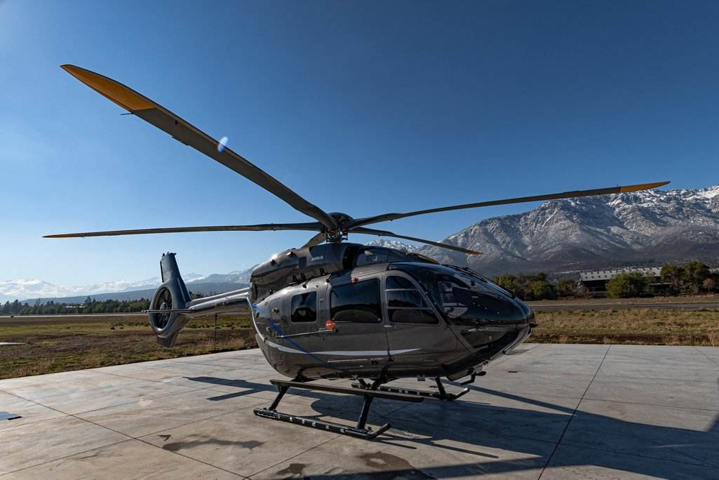 Airbus's H145 starts its flight campaign in Chile