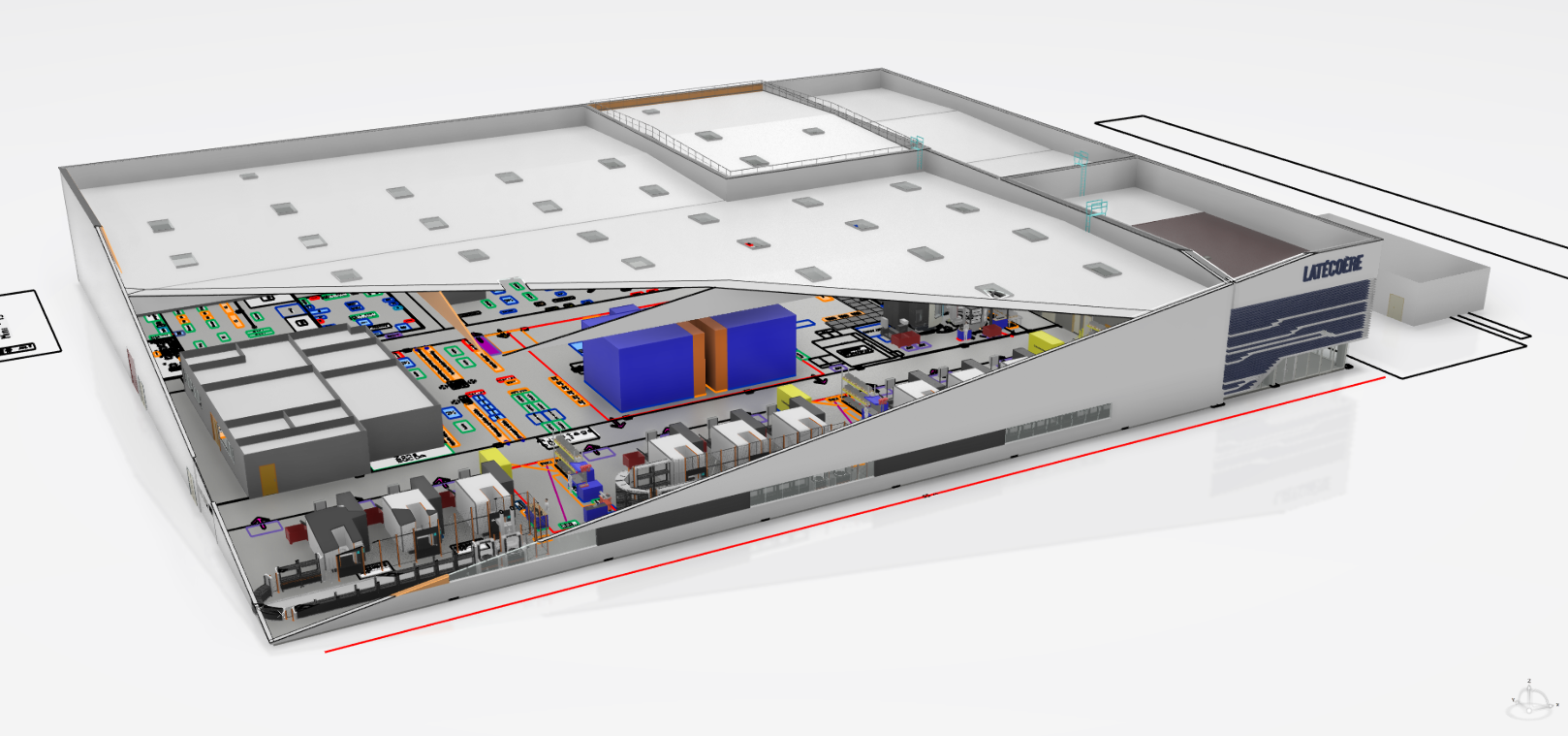 Latécoère breaks ground on smart factory