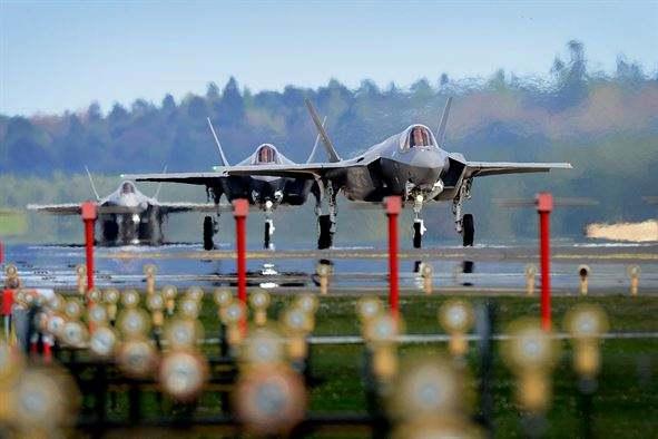 USAF F-35As deploy to U.K.