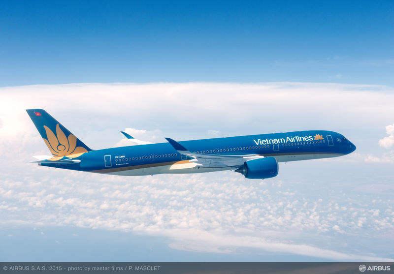 Airbus books A320, A350 orders in Vietnam
