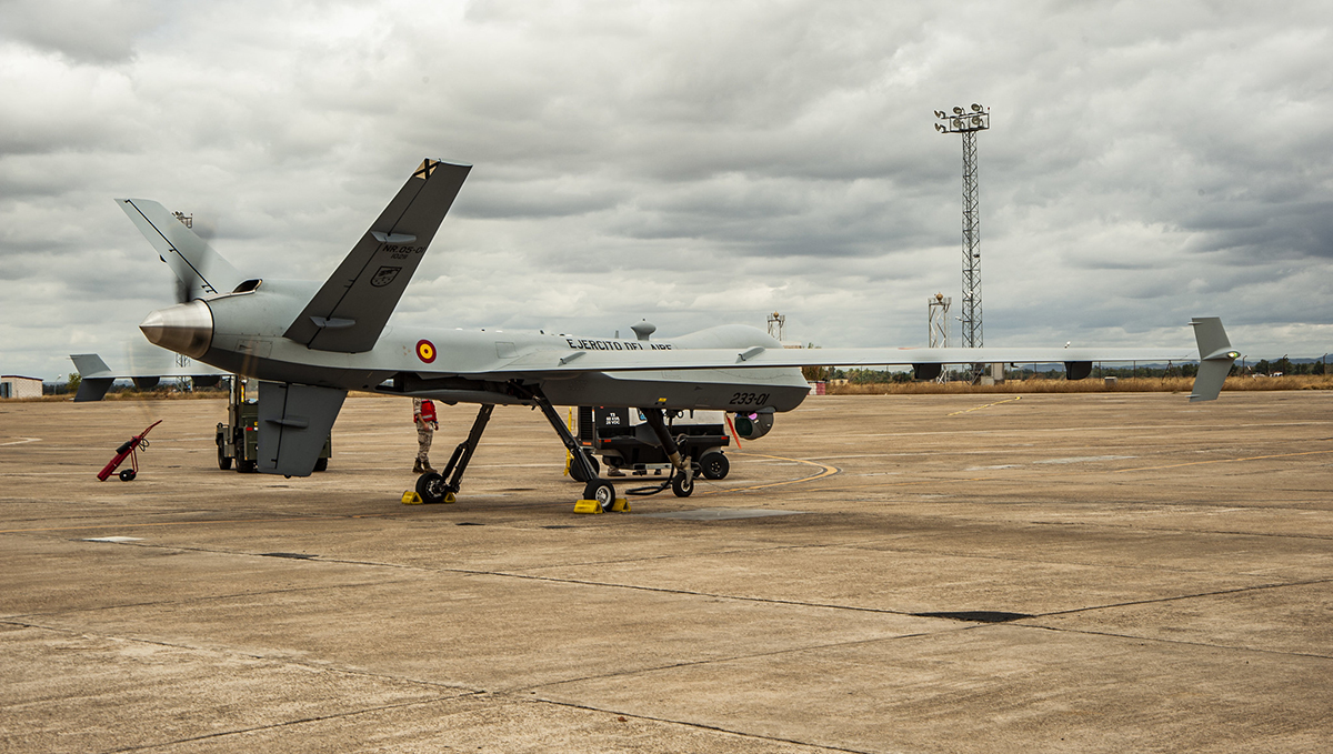 Two MQ-9A Block 5 delivered to Spain