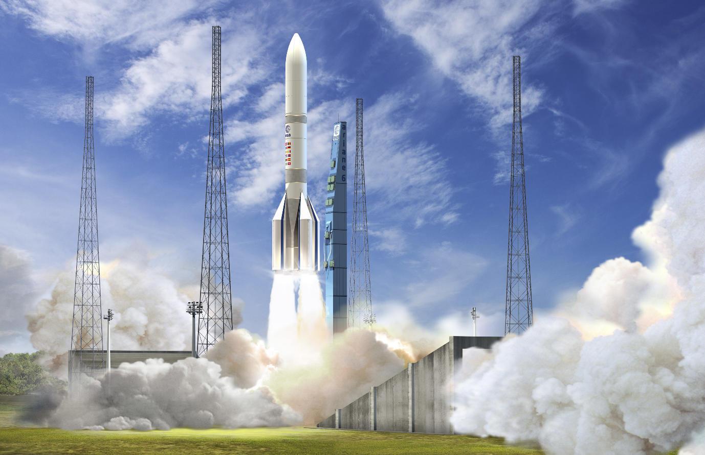Full development go-ahead for Ariane 6, launch complex