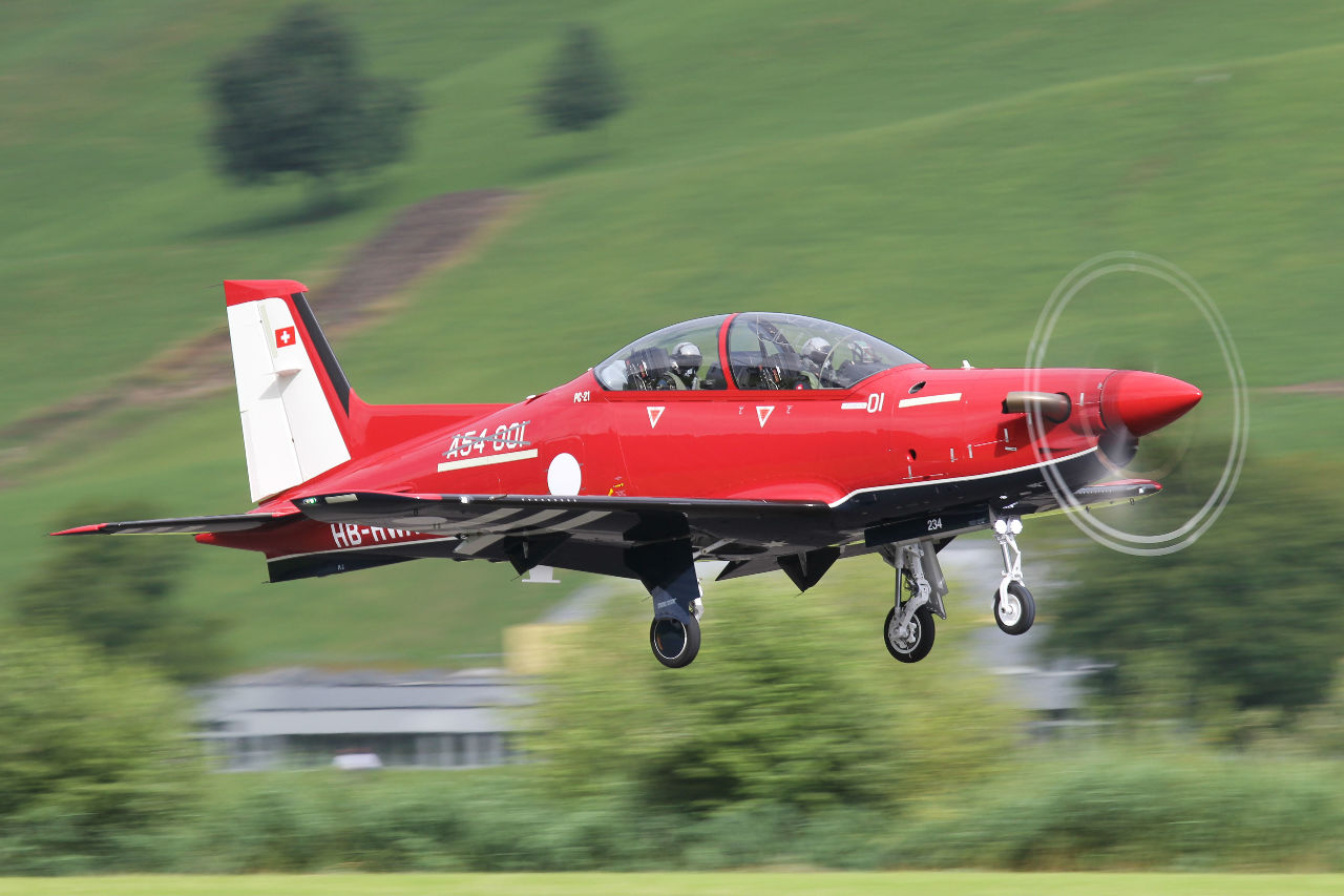 Pilatus PC-21 for Australian Defence Force completes first flight