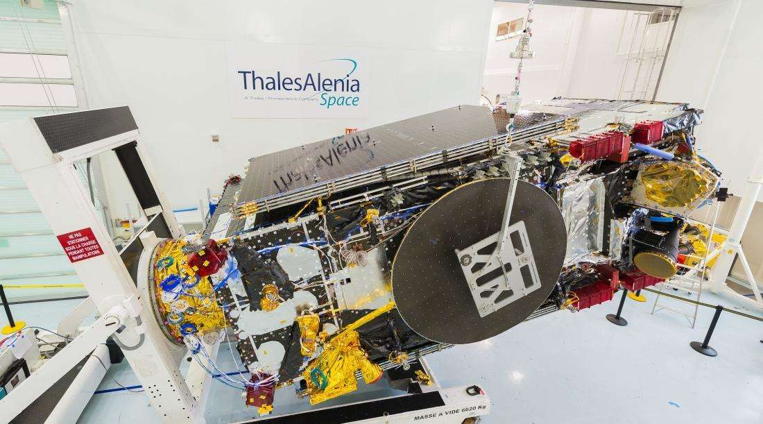 Thales Alenia Space prepares to ship Brazil's SGDC satellite