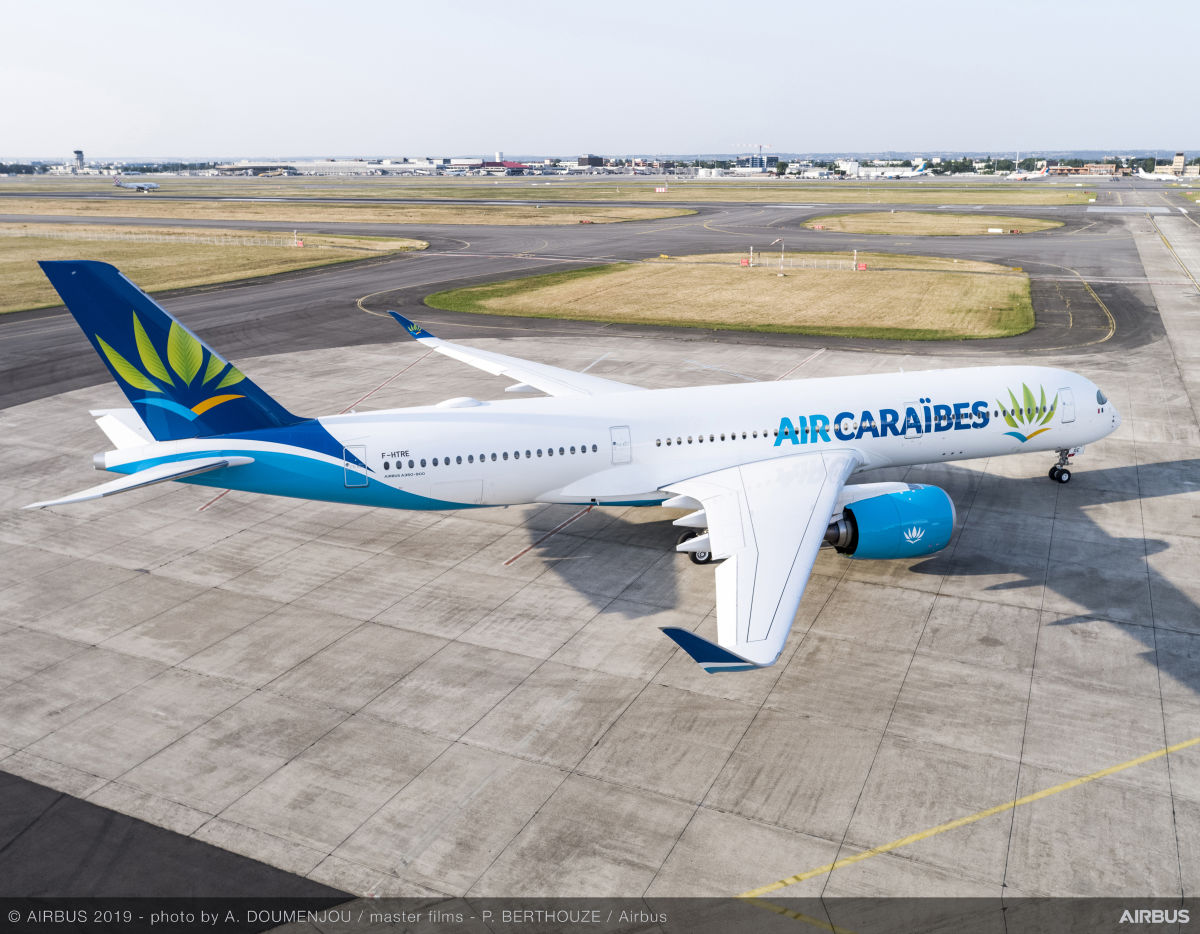 Air Caraïbes takes delivery of its third Airbus A350-900