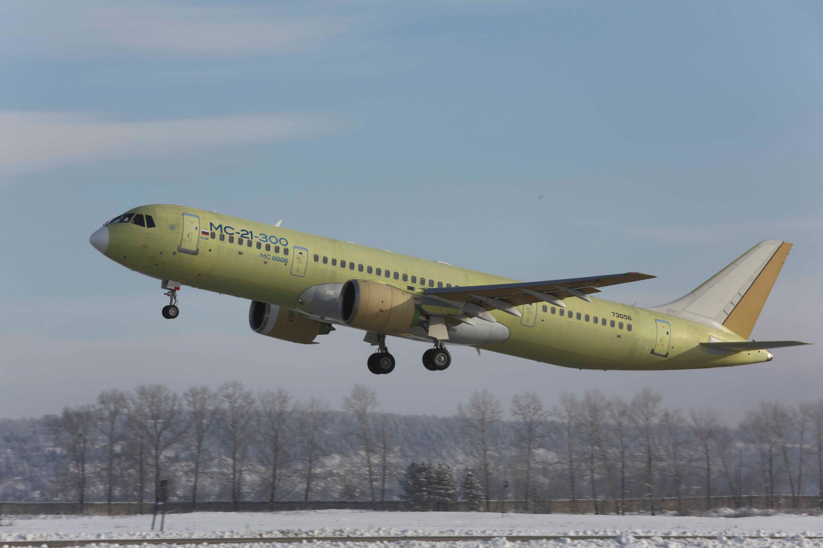 Russian MC-21 and Chinese C919 medium-haul aircraft methodically continue their flight tests