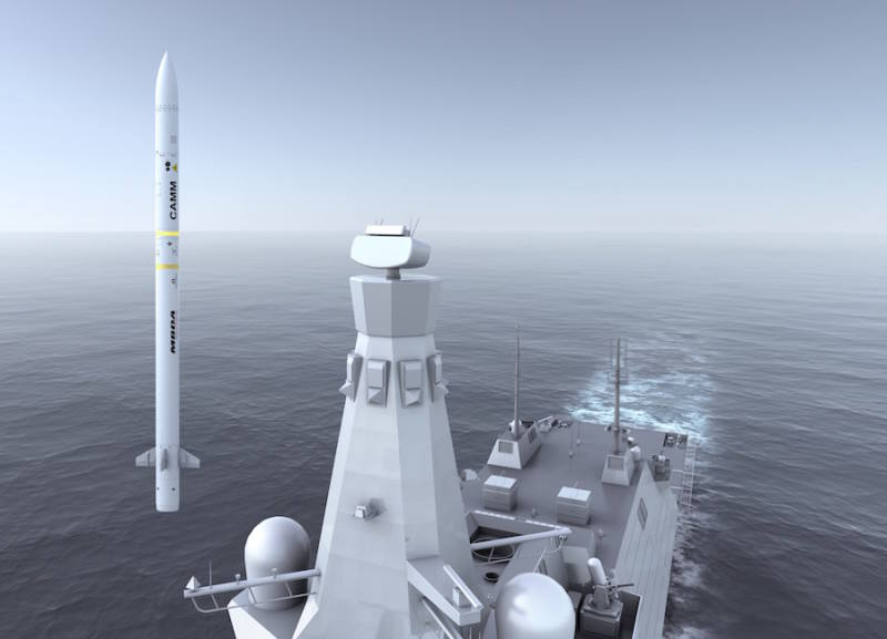 MBDA Sea Ceptor wins contract for UK Royal Navy Type 26 Frigates