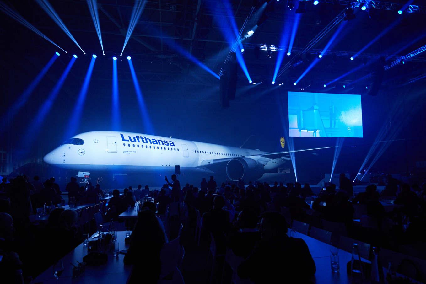 Lufthansa unveils A350-900 innovations