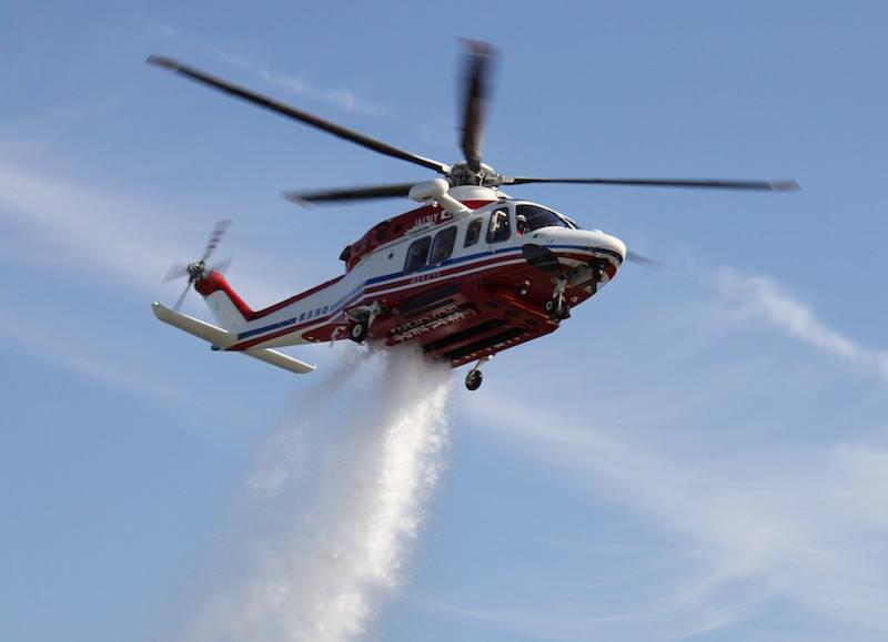 Leonardo sells firefighting helicopters in Japan