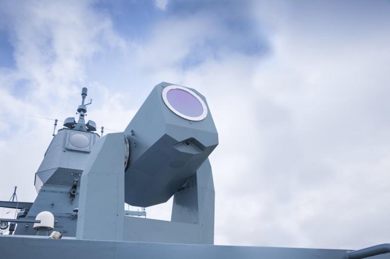 ILA 2016: MBDA unveils 360-degree laser effector