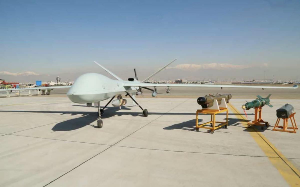 Iran presents its UAV Male Kaman 22