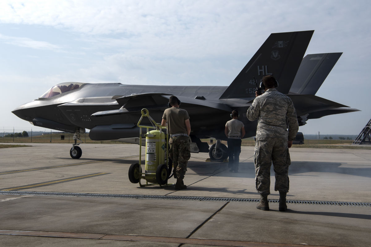 F-35 of the USAF.