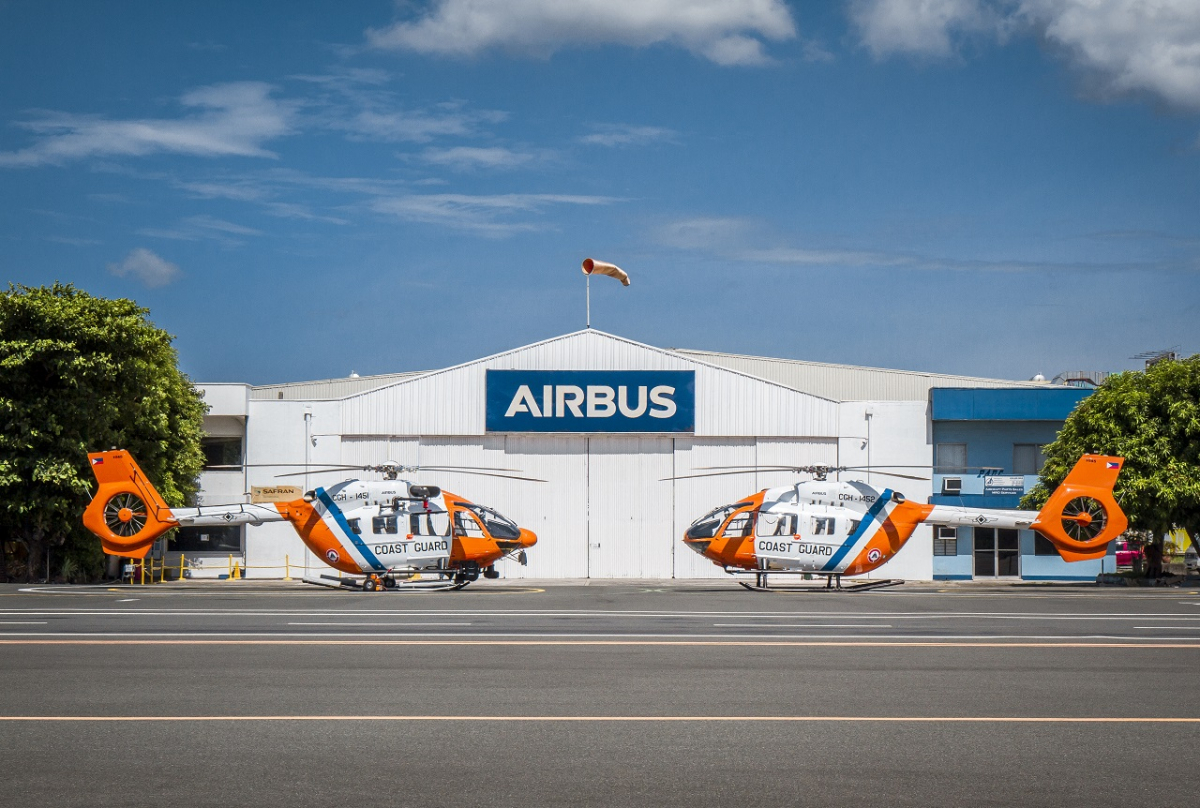 Philippine Coast Guard takes delivery of second H145 for parapublic missions across the archipelago